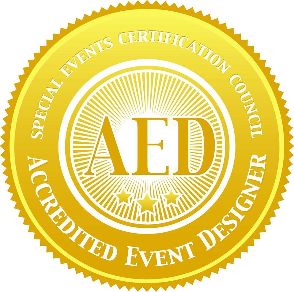 Golden Accredited Event Designer