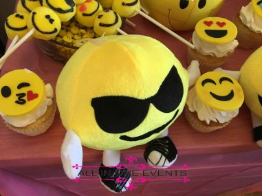 Emoji Themed Bithday Party - All In One Events - All In One Events