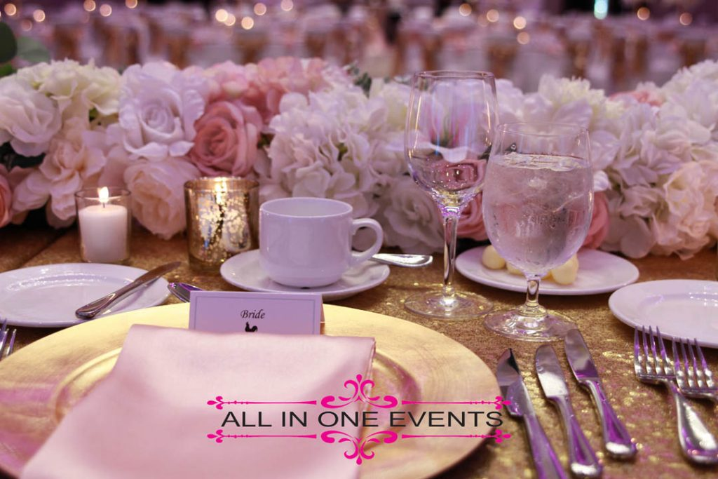 All In One Events - Luigi & Lucy's Wedding