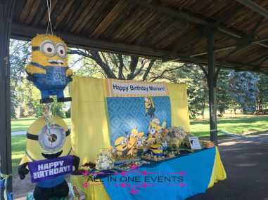 Minion Themed Bithday Party - All In One Events