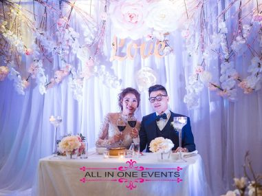 All In One Events - Nga & Ty Wedding