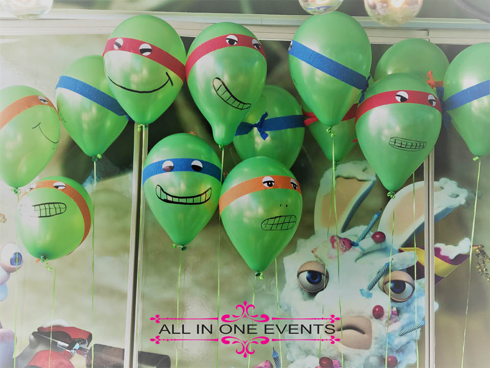 Ninja Turtle Birthday Party - All In One Events