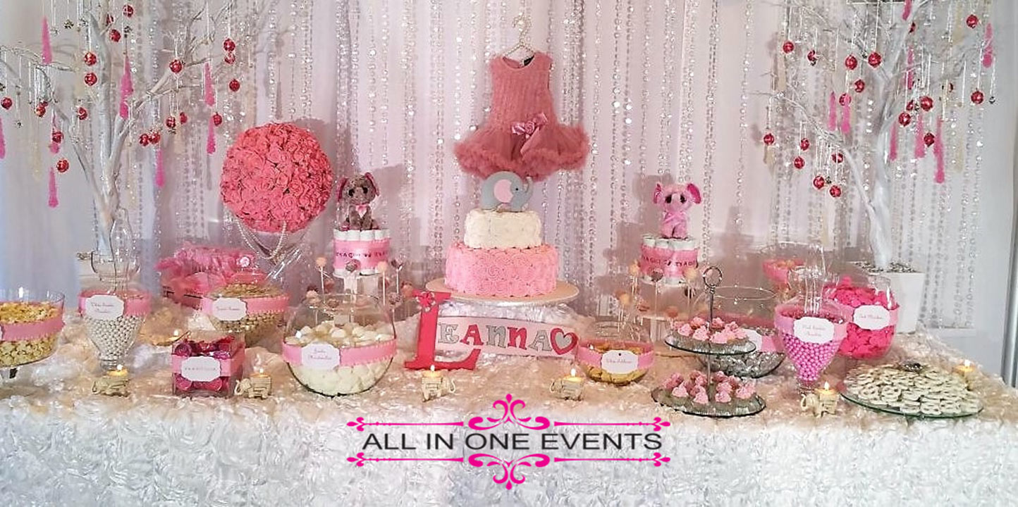 Leanna's Baby Shower - All In One Events